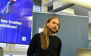 Gustav Jørgen Pedersen, seniorrådgiver og prosjektleder for kvalitetsprosjektet i Kulturtanken, nasjonal etat for Den kulturelle skolesekken