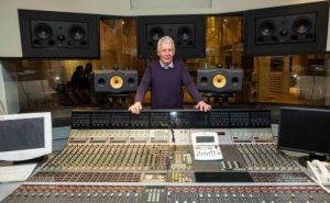 Jan Erik Kongshaug i Rainbow Studio i 2015