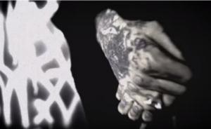 """Stillbilde fra Mayhems video """"Falsified and Hated"""", fra det siste albumet, """"Daemon"""""""