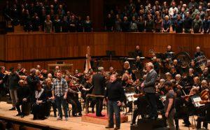 "Bergen Filharmoniske Orkester framfører ""Peter Grimes"" i Royal Festival Hall i London lørdag 30. november 2019"