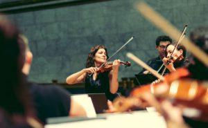 Lorenza Borrani med Det Norske Kammerorkester