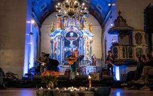 Malin Pettersen, fra Trondheim Calling-konserten i Vår Frues kirke lørdag 1. februar