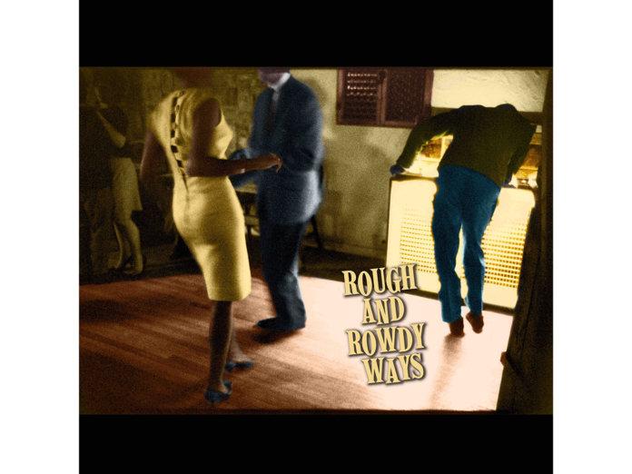 Platecover, bob Dylan, folk på fest, danser,